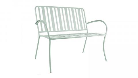Chaise de jardin en métal vert jade - Collection Lines - Leitmotiv