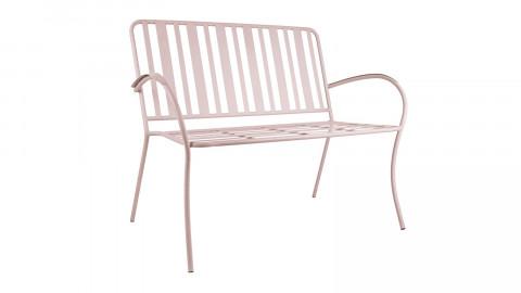 Chaise de jardin en métal rose - Collection Lines - Leitmotiv