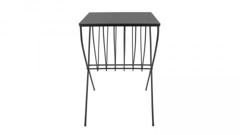 Table d'appoint en métal noir - Collection Cross - Leitmotiv