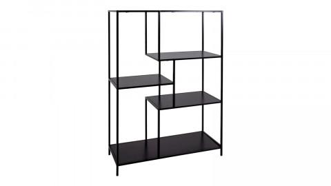 Etagère 5 niches en métal noir - Collection Vita