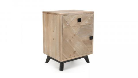 Chevet scandinave 1 tiroir 1 porte - Collection Mandy