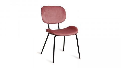 Lot de 2 chaises en velours rose - Hk Living