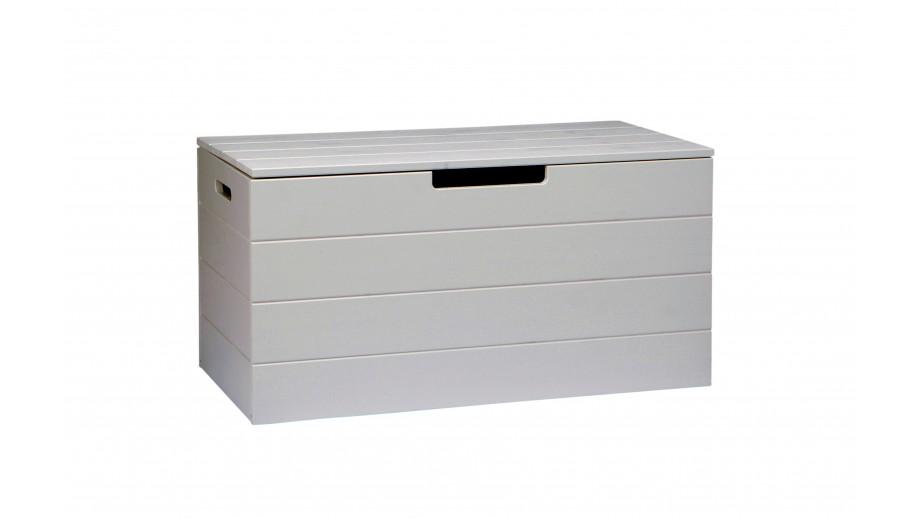 coffre jouets en pin massif b ton gris collection keet. Black Bedroom Furniture Sets. Home Design Ideas