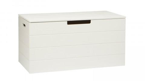 Keet Coffre A Jouet Pin Brosse Blanc