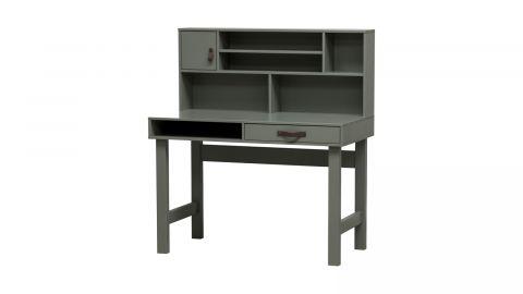 Bureau avec rangements en bois vert - Collection Stage - Vtwonen