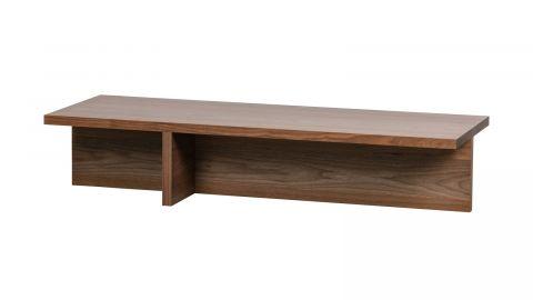 Table basse rectangulaire en noyer - Collection Angle - Vtwonen
