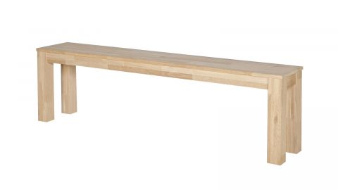 Banc 160cm en chêne massif - Collection Largo - Woood