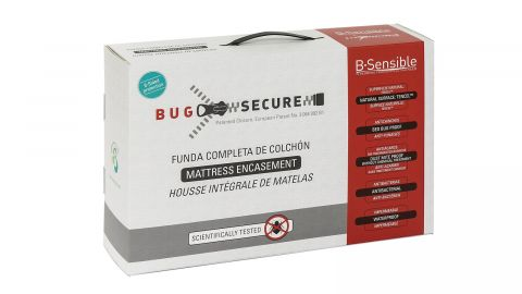 Housse de matelas anti punaises de lit 140x190cm bonnet 25cm - Collection Bug Secure - Bsensible