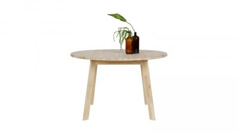 Table à manger ronde en chêne, 120cm de diamètre - Collection Disc
