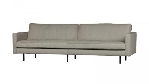 Canapé 4 places en tissu nougat - Collection Rodéo - BePureHome