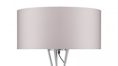 Lampadaire abat jour taupe - Collection Lima - It's About Romi
