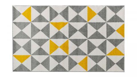 Tapis de couloir scandinave jaune 80x150cm - Collection Alicia