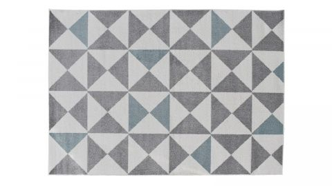 Tapis scandinave bleu 60x110cm - Collection Alicia