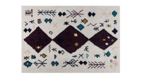 Tapis motifs shaggy Lila 160x230cm - Collection Jack