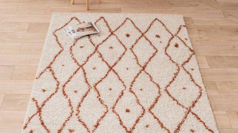 Tapis motifs shaggy 200x290cm - Collection James