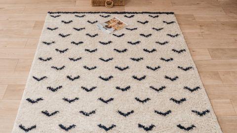 Tapis motifs shaggy 120x160cm - Collection James