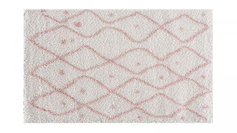 Tapis motifs shaggy rose 160x230cm - Collection James