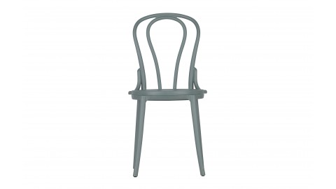 Set de 2 chaises de bistro en plastique jade - Collection Bibi