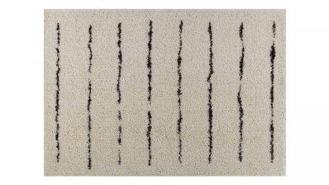 Tapis motifs shaggy crème 200x290cm - Collection James