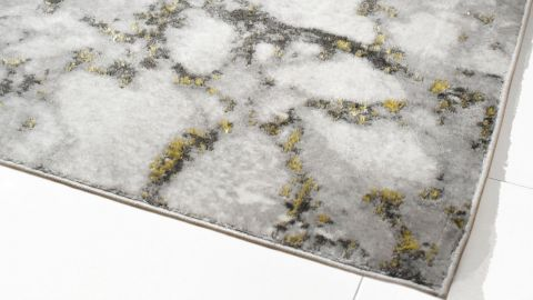 Tapis moderne or 160x230cm - Collection Kyle