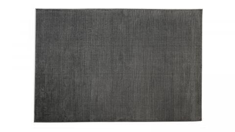 Tapis de couloir moderne anthracite 80x150cm - Collection Noah