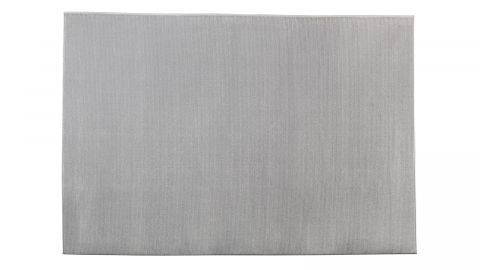 Tapis de couloir moderne gris 80x150cm - Collection Noah