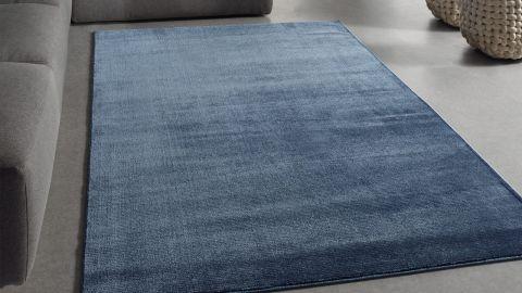 Tapis de couloir moderne bleu roi 80x150cm - Collection Noah