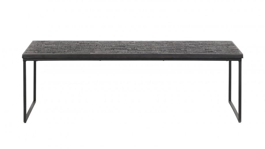 Table basse en bois noir - Collection Sharing