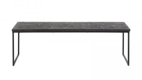Table basse en bois noir - Collection Sharing - BePureHome