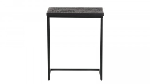 Table basse en bois noir en forme de U - Collection Sharing - BePureHome