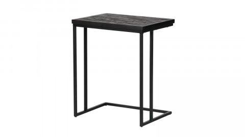 Table basse en bois noir en forme de U - Collection Sharing