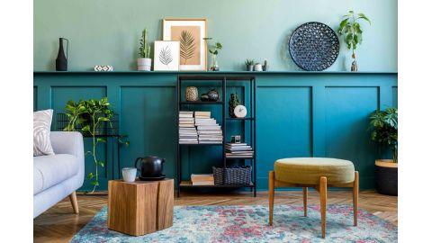 Tapis vintage Bleu 200x290cm - Collection Rhys