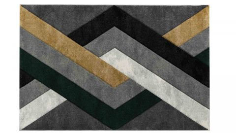 Tapis de couloir Scandinave vert 80x150cm - Collection Scandi