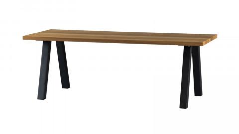 Table de jardin 6 personnes en bois et métal - Collection Tablo - Woood