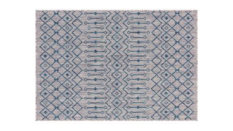 Tapis d'extérieur scandinave gris 120x160cm - Collection Ethan