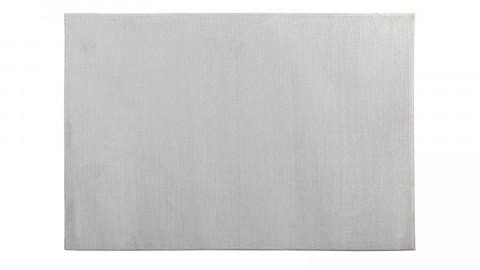 Tapis de couloir moderne blanc 80x150cm - Collection Noah