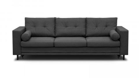 Canapé 3 places convertibles en tissu gris souris - Collection Viktor