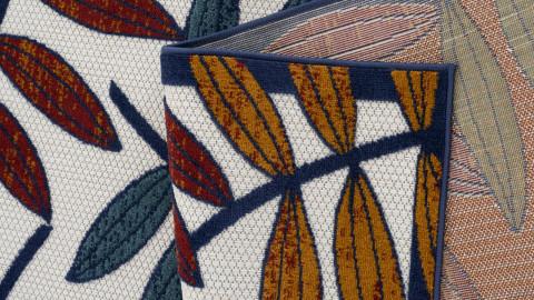 Tapis d'extérieur scandinave Multicolore 70x140cm - Collection Joe