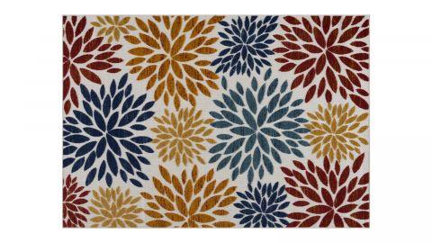 Tapis d'extérieur scandinave Multicolore 120x160cm - Collection Joe