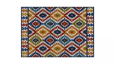 Tapis d'extérieur scandinave Multicolore 200x290cm - Collection Joe