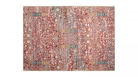 Tapis imprimé numérique rouge 120x170cm - Collection Jacob