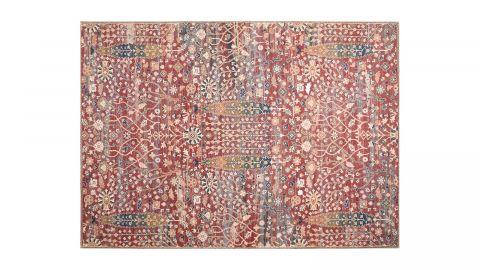 Tapis imprimé numérique rouge 200x290cm - Collection Jacob