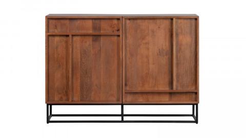 Buffet en manguier 2 portes piètement en métal - Collection Forrest - Woood