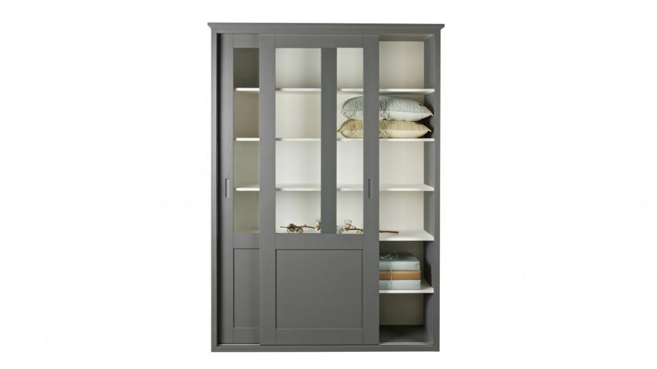 Armoire 2 portes coulissantes en pin – Collection Vince