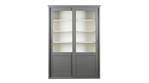 Armoire 2 portes coulissantes en pin – Collection Vince
