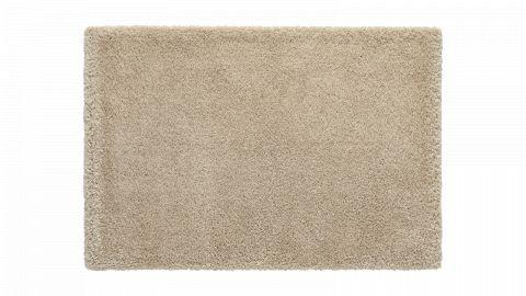 Tapis de salon uni beige 160 x 230 cm - collection Soft