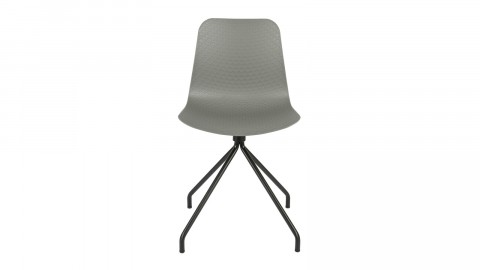 Lot de 2 chaises couleur gris - Collection Sis - Woood
