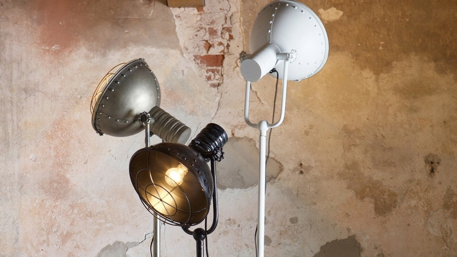 Lampe en métal – Collection Spotlight