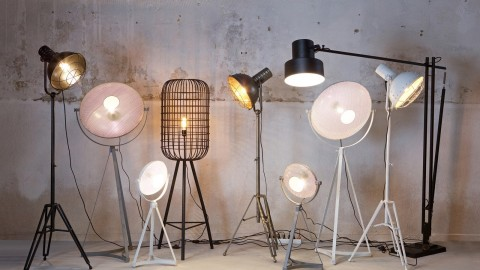 Lampe en métal – Collection Spotlight
