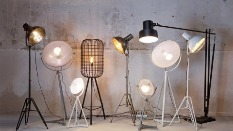 Lampe blanche – Collection Spotlight